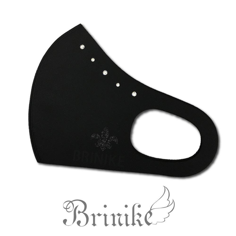 【BRINIKE】スワロフスキーマスク ライン◆ユリ