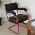 イギリス・アームチェア・椅子・インダストリアル・アンティーク・ビンテージ
