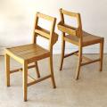 チャーチチェア・椅子・イギリス・アンティーク・ビンテージ・ブロカント・