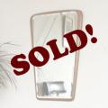 イギリス製ビンテージミラー・壁掛け鏡/アンティーク雑貨ミッドセンチュリー