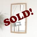 イギリス製ビンテージ壁掛け鏡ミラー/ミッドセンチュリー家具アンティーク