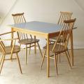イギリス・ダイニングテーブル.・フォーマイカ・ビンテージ・アンティーク・北欧