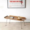 イギリス製ビンテージ・コーヒーテーブル・ブレックファーストテーブル【チーク】ミッドセンチュリー