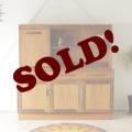 G-planジープランFRESCO・ヴィンテージ【チーク】ハイサイドボード・食器棚/イギリス製アンティーク家具ビンテージ北欧
