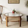G-plan・ジープラン・ラウンドテーブル・コーヒーテーブル・チーク・ビンテージ・アンティーク・北欧