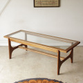 Stonehillストーンヒル・コーヒーテーブル・ビンテージ・ガラステーブル・アンティーク