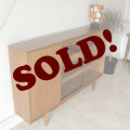 McIntoshマッキントッシュイギリス製ビンテージチーク・ブックケース/ミッドセンチュリー北欧アンティーク家具