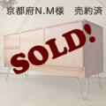 UKビンテージ家具サイドボード【チーク】テレビボード/アンティーク輸入イギリス北欧デザイン