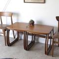 イギリス製NATHANネイサン・ビンテージ・ネストテーブル・コーヒーテーブル・ミッドセンチュリー・アンティーク・輸入家具・北欧
