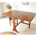 G-planジープラン・ダイニングテーブル・ドロップリーフ・ゲートレッグ/イギリス製ビンテージ家具/北欧アンティーク013028