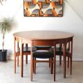 ネイサン・NATHAN・テーブル・ダイニング・ラウンド・ビンテージ・チーク・アンティーク・ミッドセンチュリー・北欧デザイン・家具