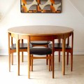 Nathan・ネイサン・ダイニングテーブル・チェア・エクステンション・チーク・イギリス製・ビンテージ家具