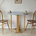 イギリス製・ビンテージ・フォーマイカ・ダイニングテーブル・ブルー・アンティーク