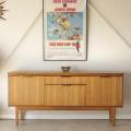イギリス製ビンテージチーク・サイドボード・テレビボード/北欧アンティーク・ミッドセンチュリー・輸入家具014014