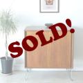 UKビンテージ家具サイドボード【チーク】テレビボード/アンティーク輸入イギリス北欧デザイン014020