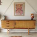 イギリス製AVALON(アバロン)チーク・サイドボード/ビンテージ家具・アンティーク