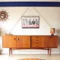 G-planジープラン・ヴィンテージ・サイドボード【ブラジリア】テレビボード・アンティーク/イギリス製・北欧デザイン家具