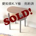 ソーイングボックス・裁縫箱・収納・サイドテーブル・レトロ・ブロカント・ビンテージ