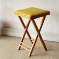 イギリス製【折り畳める】チェア・アンティーク・ビンテージ・スクエアー・輸入家具