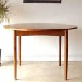 G-plan【チーク】ダイニングテーブル・エクステンション/ミッドセンチュリー家具・ビンテージ・アンティーク