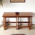 ジープラン・ネストテーブル・コーヒーテーブル・ロング・チーク・ビンテージ・アンティーク・北欧