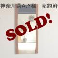 ミラー・イギリス・鏡・壁掛け・ビンテージ・アンティーク・雑貨