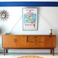 GPLANジープラン・ヴィンテージ・サイドボード・食器棚アンティーク/イギリス製・北欧家具