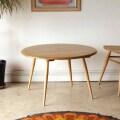 アーコール・コーヒーテーブル・センターテーブル・無垢・ビンテージ・アンティーク・北欧・インテリア