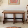 ジープラン・ネストテーブル・コーヒーテーブル・チーク・ビンテージ・アンティーク・北欧・イギリス