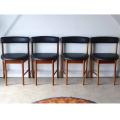 マッキントッシュ椅子4脚セット ビンテージ英国製