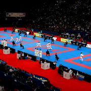 WKF世界大会 WKF認定マット