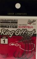 モーリス ノガレス グラン フッキングマスター リングオフセット #3、#2、#1、#1/0