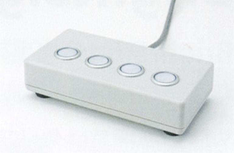 BrightSign(ブライトサイン)BS2シリーズ スイッチボックス×4(照光式ボタン) 【型番】BR/SBX-0404C ※お取り寄せ