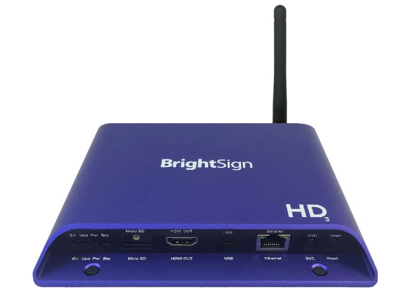 ■在庫限りで販売終了■ BrightSign HD1023W(ブライトサイン)WiFi Beaconモジュール搭載モデル 【型番】BS/HD1023W ※お取り寄せ