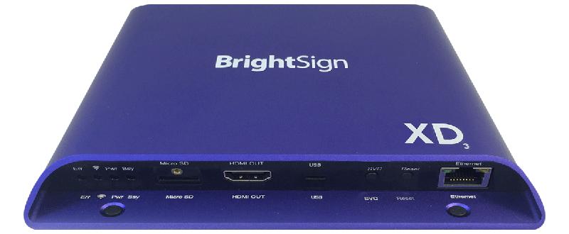 ■在庫限りで販売終了■ BrightSign XD1033(ブライトサイン)正規品 【型番】BS/XD1033 ※お取り寄せ