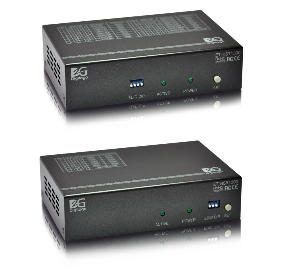 ■販売終了■ 【送受信器セット】スケーラ機能付HDMI 300m延長器 【型番】ET-HST/R1300 ※販売終了