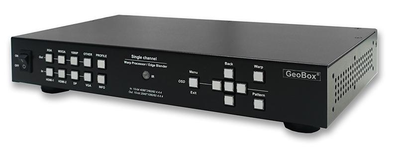 G116|2019年7月22日発売|GeoBox G116 4K/60P入力幾何学補正プロセッサー(1入力1出力) 【型番】G116 ※お取り寄せ