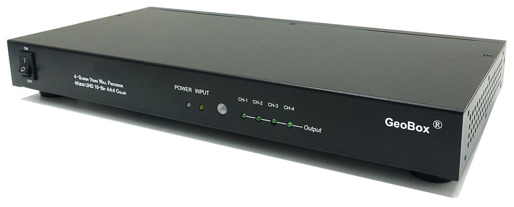 GeoBox G405L 4K/30Pマルチディスプレイコントローラー(1入力4出力) 【型番】G405L ※店頭取り扱い