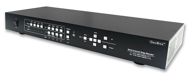 M804|2019年6月26日発売|GeoBox M804 4K/60P入力エッジブレンディングプロセッサー(4入力4出力) 【型番】M804 ※お取り寄せ