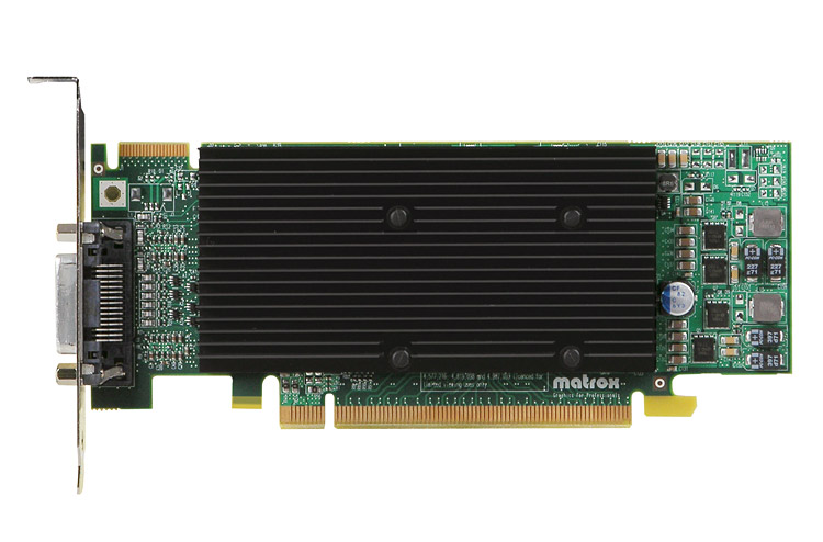 Matrox M9120 Plus LP PCIe x16/J 【型番】M9120/512PEX16/LP ※お取り寄せ