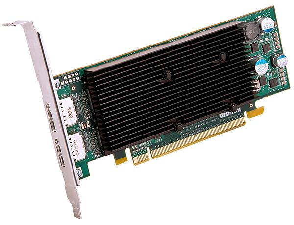 Matrox M9128 LP PCIe x16/J 【型番】M9128/1024PEX16/LP ※お取り寄せ