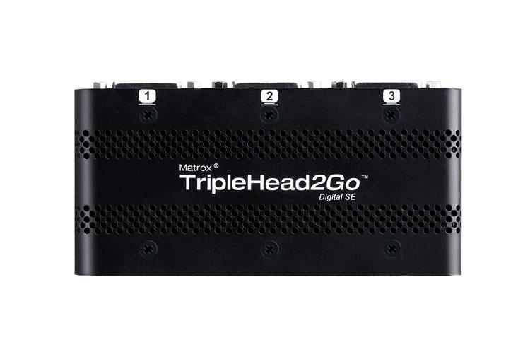 Matrox TripleHead2Goデジタル版SE 【型番】T2G/DSE ※店頭取り扱い