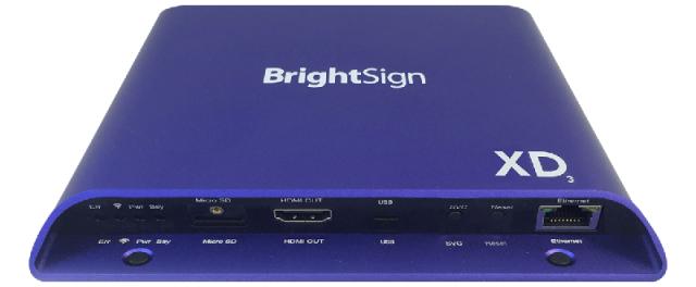 ■販売終了■ BrightSign XD1033(ブライトサイン)正規品 【型番】BS/XD1033 ※販売終了