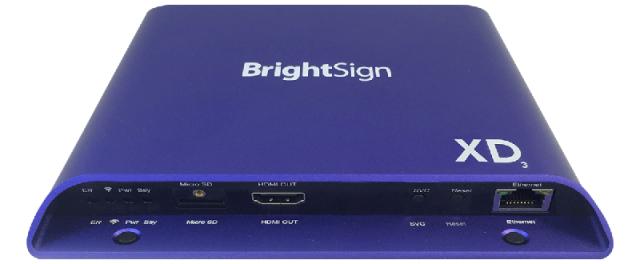 BrightSign XD233(ブライトサイン)正規品 【型番】BS/XD233 ※販売終了