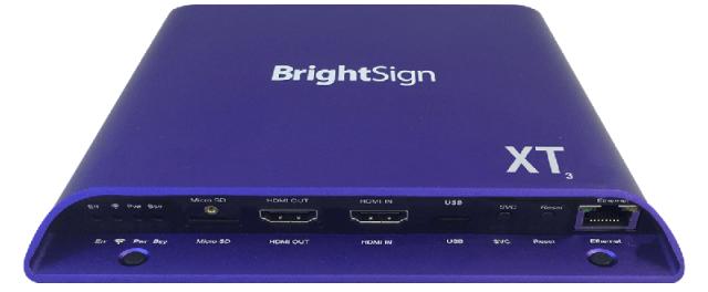 BrightSign XT1143(ブライトサイン)正規品 【型番】BS/XT1143 ※販売終了