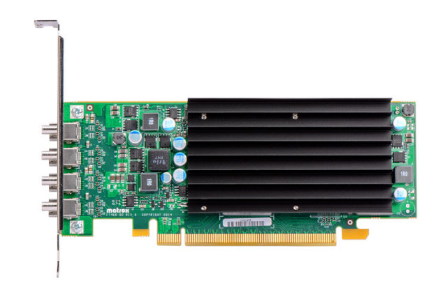 Matrox C420 LP PCIe x16/J 【型番】C420/2GBPEX16/LP ※お取り寄せ