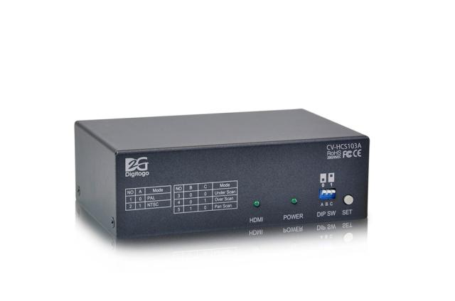 ■アウトレット(保証なし)■ Digitogo CVシリーズ HDMI to CV/SVコンバーター 【型番】CV-HCS103A ※店頭取り扱い