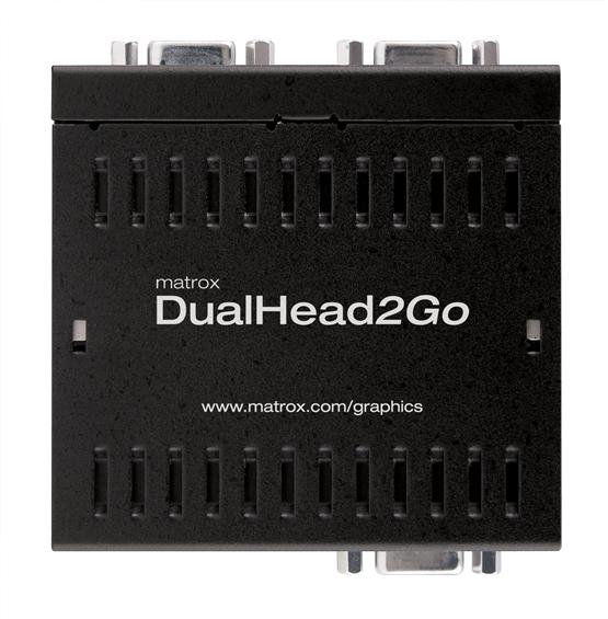 ■販売終了■ Matrox DualHead2Goアナログ版 【型番】D2G/A/USB ※販売終了
