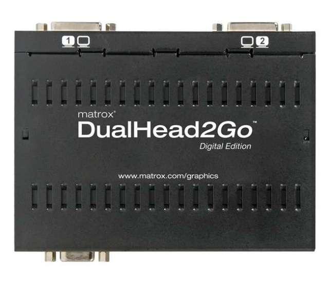 Matrox DualHead2Goデジタル版 【型番】D2G/D ※お取り寄せ
