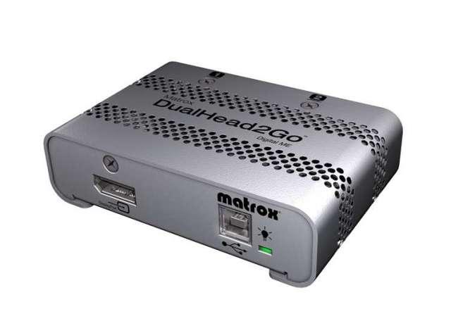 Matrox DualHead2Goデジタル版 ME(Mac)  【型番】D2G/DME ※お取り寄せ